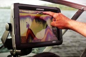 interpretar sonda para pescar