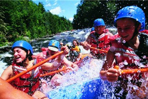 como hacer rafting