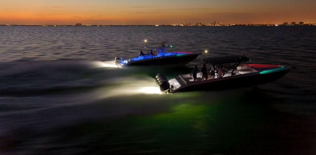 luces de navegacion