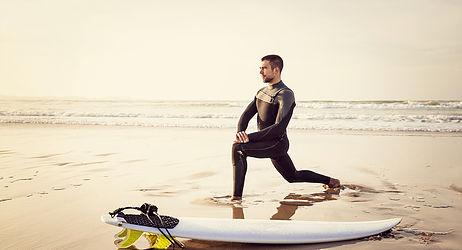 estiramientos en surf